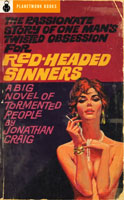 Red-Headed Sinners (1953) by Jonathan Craig